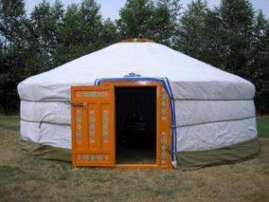 Mongolian tent: Ger