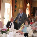 Chairman Hugh Roberts at 40th Anniversary Luncheon 2008