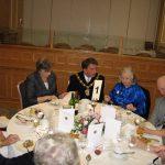 Deputy Mayor of Croydon at Anniversary Luncheon 2008